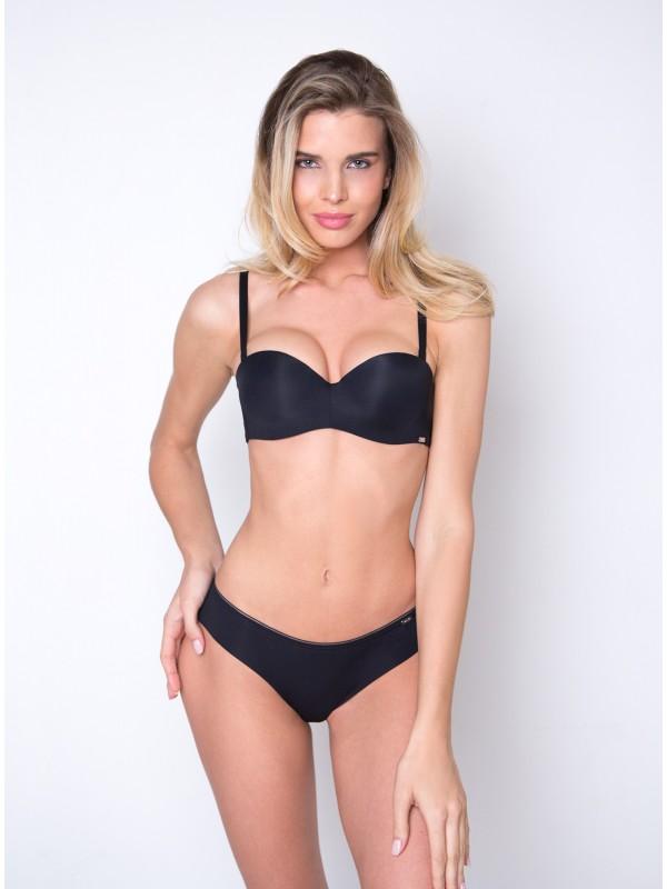 INDEFINI Комплект нижнего белья «Джейн Эйр» black WXY1093