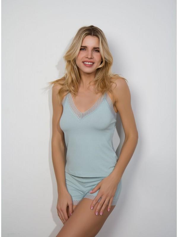 INDEFINI Пижама с шортами TDP1022