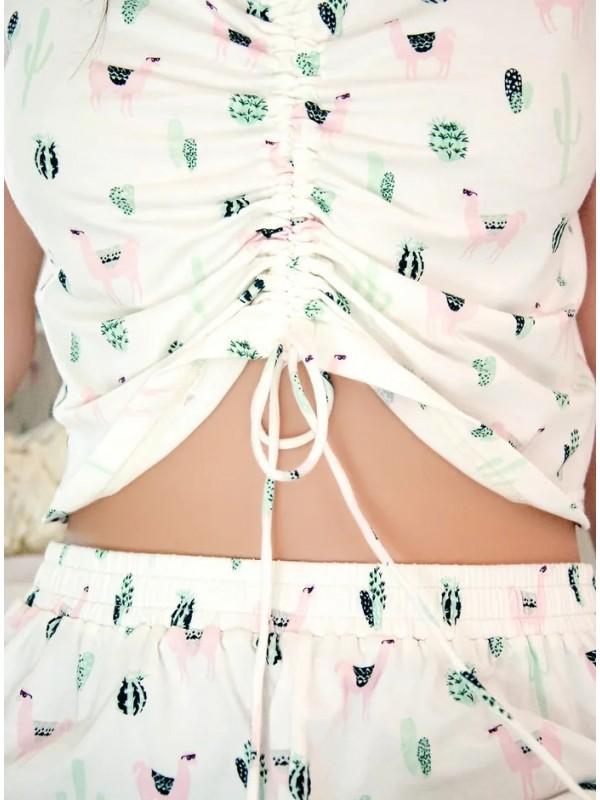 INDEFINI Пижама с шортами TBD1026