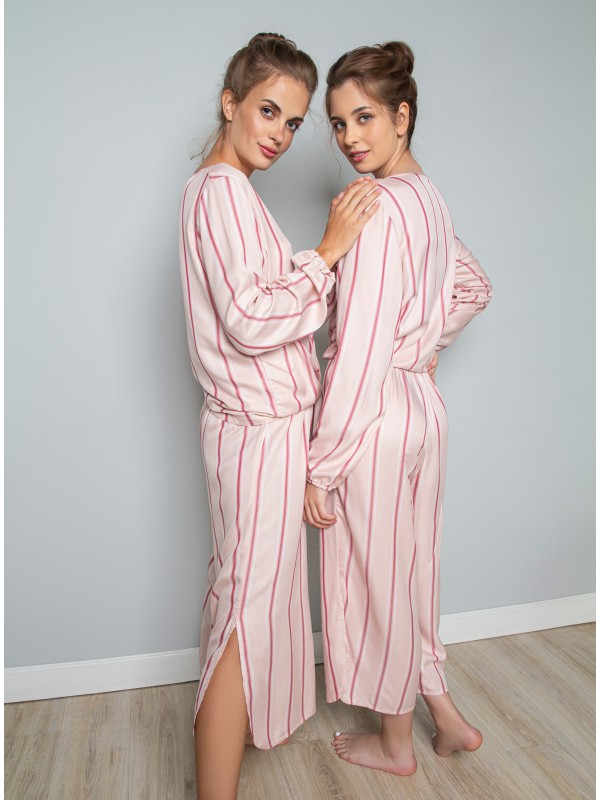 Женская пижама INDEFINI «Jasmin» 1140TCC