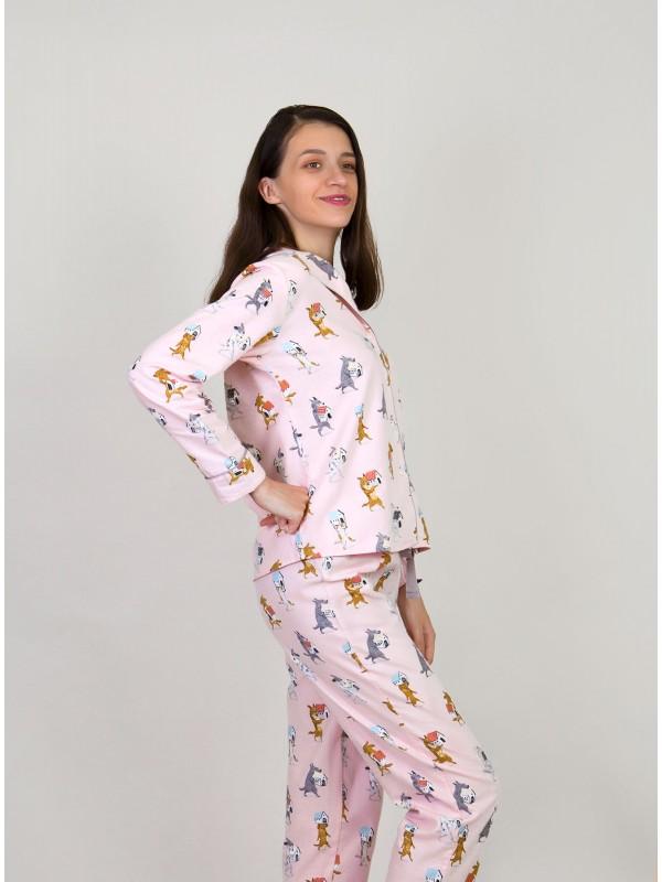 Женская пижама INDEFINI «Cozy» 1138TCC
