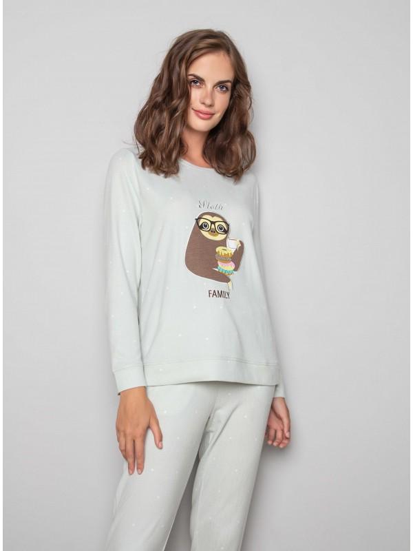 Женская пижама INDEFINI «Pleasant mood» 1144TCC