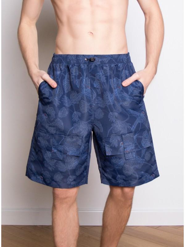 INDEFINI Мужские пляжные шорты YMS1027